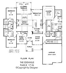edenville house plan house plans by garrell associates inc