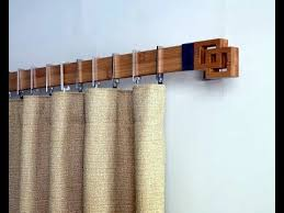 Creative Curtain Ideas Gorgeous Design For Wood Curtain Rods Ideas Diy Easy Curtain