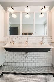 trough sink two faucets bathroom double faucet trough sink for your bathroom design mod