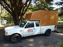 Ford Ranger Truck Cover - ranger cab over camper build continues ford ranger cabover vacation