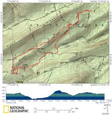 Appalachian Trail Pennsylvania Map by Hiking The Trails Around Buck And Brush Ridge Pahikes