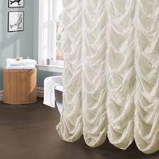 Lush Shower Curtains Madelynn Shower Curtain