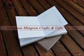 Fabric Photo Album Linen Wedding Slip In Album Matted Photo Album With Inserts