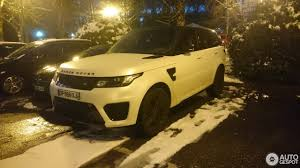 land rover brown land rover range rover sport svr 15 january 2017 autogespot