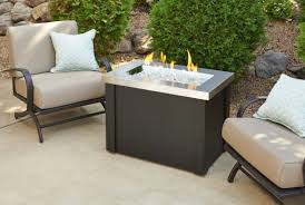 outdoor greatroom fire table outdoor greatroom providence stainless steel fire pit