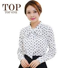 bow tie blouse plus size wholesale cheap brand find best autumn chiffon