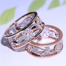 flower rings jewelry images Rose gold flower ring mira jewelry jpg