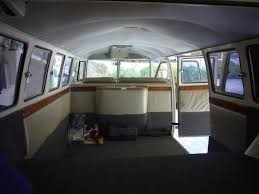 volkswagen bus interior nielsen custom finishes volkswagen bus paint restoration