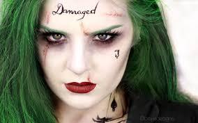 the joker female version squad jared leto makeup tutorial