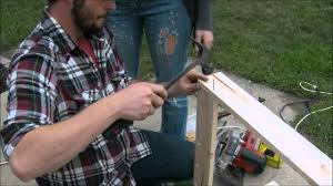 Make Your Own Gun Cabinet How To Make A Cheap Budget Gun Hunting Rifle Cabinet Rack For Do