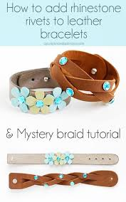 leather bracelet craft images 402 best jewelry leather images leather jewelry jpg