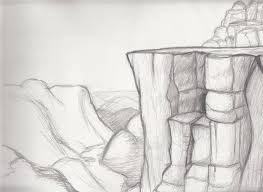 sketches for rocky landscapes sketches www sketchesxo com