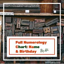 numerology reading free birthday card numerology chart numbers name birthday
