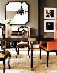 black lacquer dining table transitional dining room liz