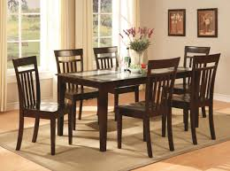 Kitchen Tables And More by Casual Dining Room Design With Espresso Finish Wooden Kitchen