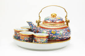 tea cup set tea cup set stock photo image of kitchen handmade 10003422
