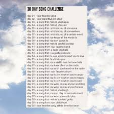 Challenge Mix 8tracks Radio 30 Day Song Challenge 10 Songs Free And