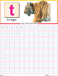 small letter t practice worksheet download free small letter t