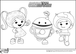 team umizoomi coloring pages free coloring