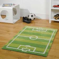 Modern Green Rugs by Play Football Pitch Rugs In Green Free Uk Delivery The Rug Seller