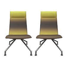 Armless Chairs Viyet Designer Furniture Seating Davis Exo High Back Quad