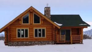 ranch style log home floor plans log cabin style house plans traintoball