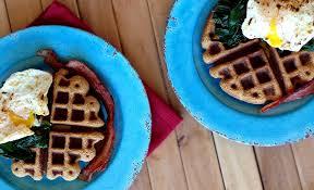 savory sweet potato waffles grain nut dairy sugar free fresh