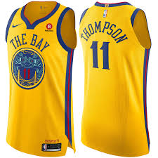 heritage uniforms and jerseys golden state warriors nike men s chinese heritage klay thompson 11