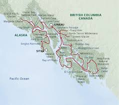 Map Of Ketchikan Alaska by Itinerary Map Images Uncruise Adventures