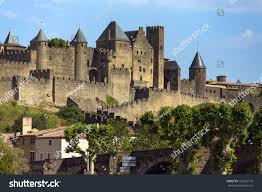 carcassonne medieval fortress walled city carcassonne languedocroussillon