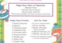 daycare brochure template best and various templates ideas
