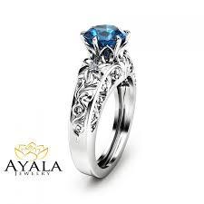 london blue topaz engagement ring london blue topaz engagement ring unique topaz ring in 14k white