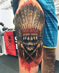 52 indian chief tattoos