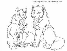 Wolf Pack Coloring Pages 281294 Wolf Pack Coloring Pages