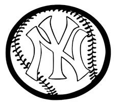 yankees coloring pages york yankees coloring pages printable image