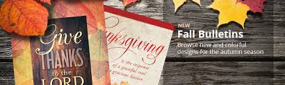 thanksgiving and fall church bulletins concordia supply