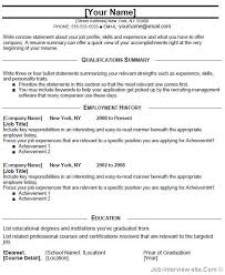 Resume Profile Examples For College Students by Download Entry Level Resume Template Haadyaooverbayresort Com