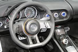 volkswagen concept interior detroit 2009 volkswagen concept bluesport
