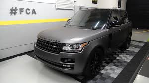 black and gold range rover miami car wraps vehicle wraps miami 3m matte car wrapping