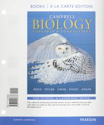 campbell biology concepts u0026 connections books a la carte plus