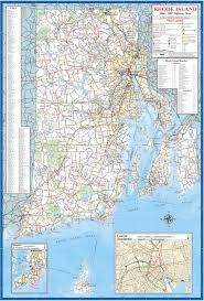 Nd Road Map Rhode Island Maps And Data Myonlinemapscom Ri Maps Rhode Island