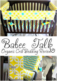 talk organic crib bedding review
