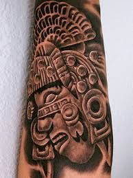 mexican aztec warrior tattoo for back in 2017 real photo