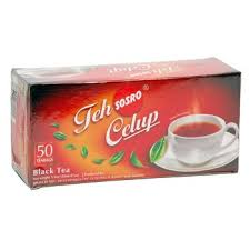 Teh Hitam teh celup asli 100 gram teh hitam original black tea bags 50 ct 2 gr