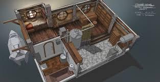 steampunk house interior ferdinand ladera steampunk interior