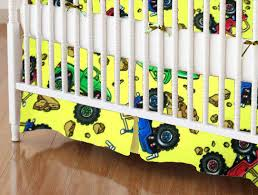 Monster Truck Bed Set Crib Sheets With Trucks Baby Crib Design Inspiration
