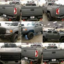 hard truck bed cover on gmc canyon a diamondback hd cover u2026 flickr