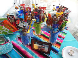 gift mugs with candy groomsmen gifts bouquet mugs with mini liquor bottles