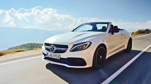 mercedes amg convertible 2017 mercedes amg c63 s convertible driving footage