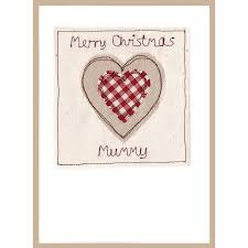 personalised heart christmas card by milly and pip